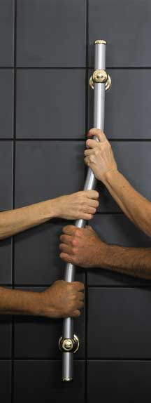 grab bars are safer for people of all abilities